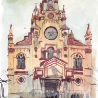 http://romeroleo.com/files/gimgs/th-27_Urban-sketch medellin iglesia.jpg
